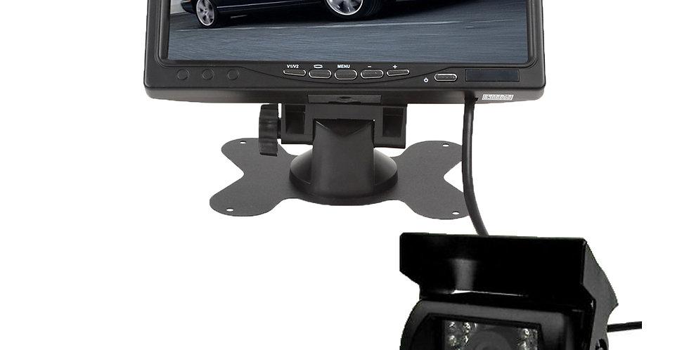 Camara Reversa Cableado 7 PuLG Camiones Etc