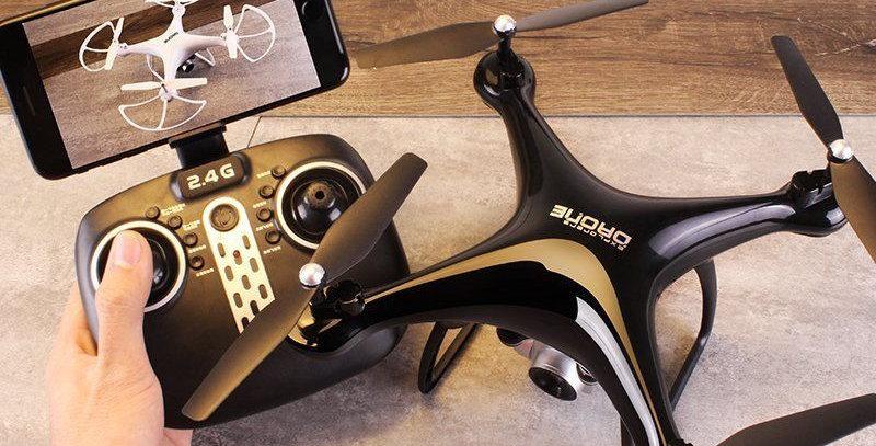 Drone Quadcoptero S8 2.4g Con Camara