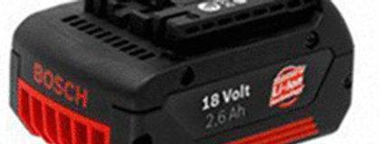 Bateria Bosh 18v 2 amp