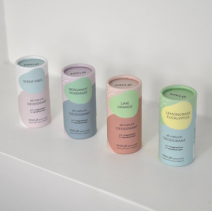 MIKLØ: natural deodorant that works and is adapted to sensitive skin
