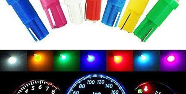 Lampara Luz Led T5 X 10 Unidades Varios Colores
