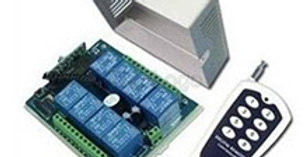 Modulo Interruptor De 8 Ch Canales  Con Control