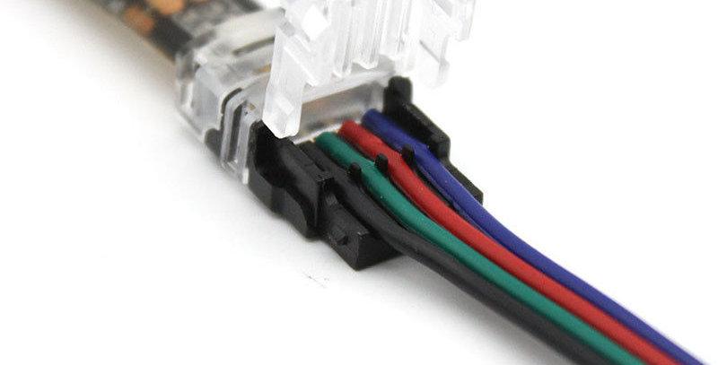 Conector Para Tira Led Rgb