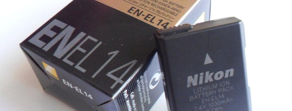 Bateria Nikon Original En-el 14 D5300 D5200 D3300