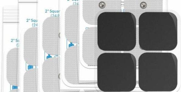 Carbon Tens 5x5cm electrode patches