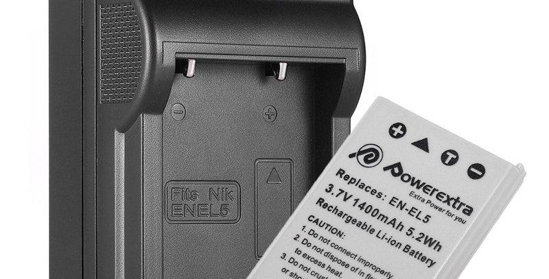 Batería + Cargador En-el5 Cámara Nikon P500 P510