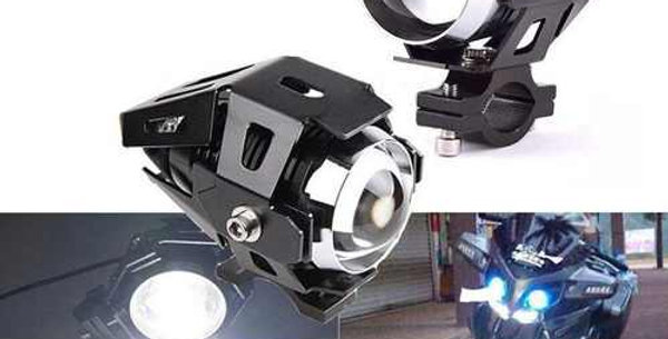 Caminero Mini Proyector Led Moto Auto Camión 15w 3 Niveles