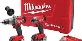 Taladro Y Atornillador Milwaukee18v 2 Bat 3a Modelo 2897-22