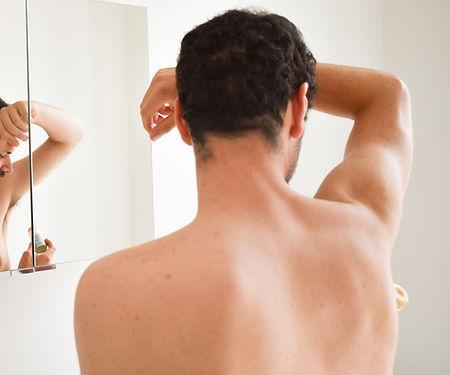 MIKLØ: Deodorant naturel pour les hommes ( Lemongrass & Eucalyptus )