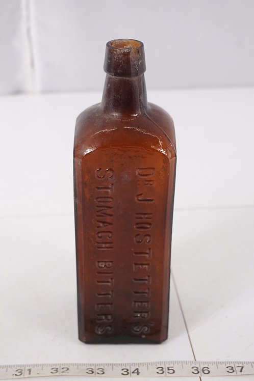 Medicine Bottle - Dr J Hostetter's Stomach Bitters