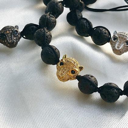 Leopard Stone Bracelet