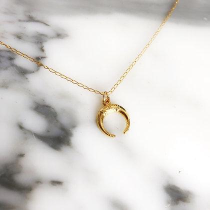 Half Moon Short Necklace