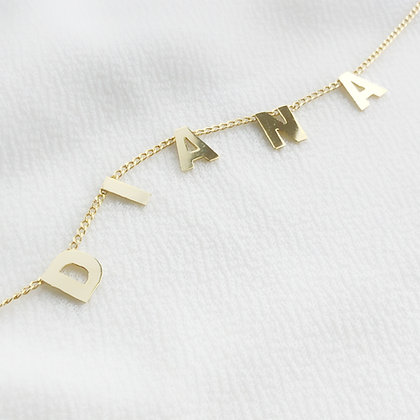 Letter by Letter Necklace