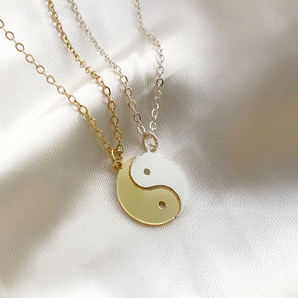Par Yin Yang Necklace
