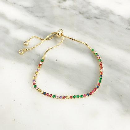 Skinny Rainbow Bracelet