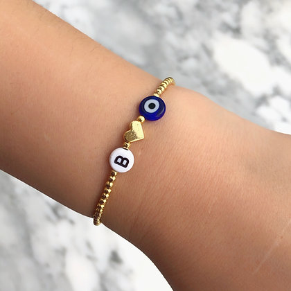 Initial vibes bracelet