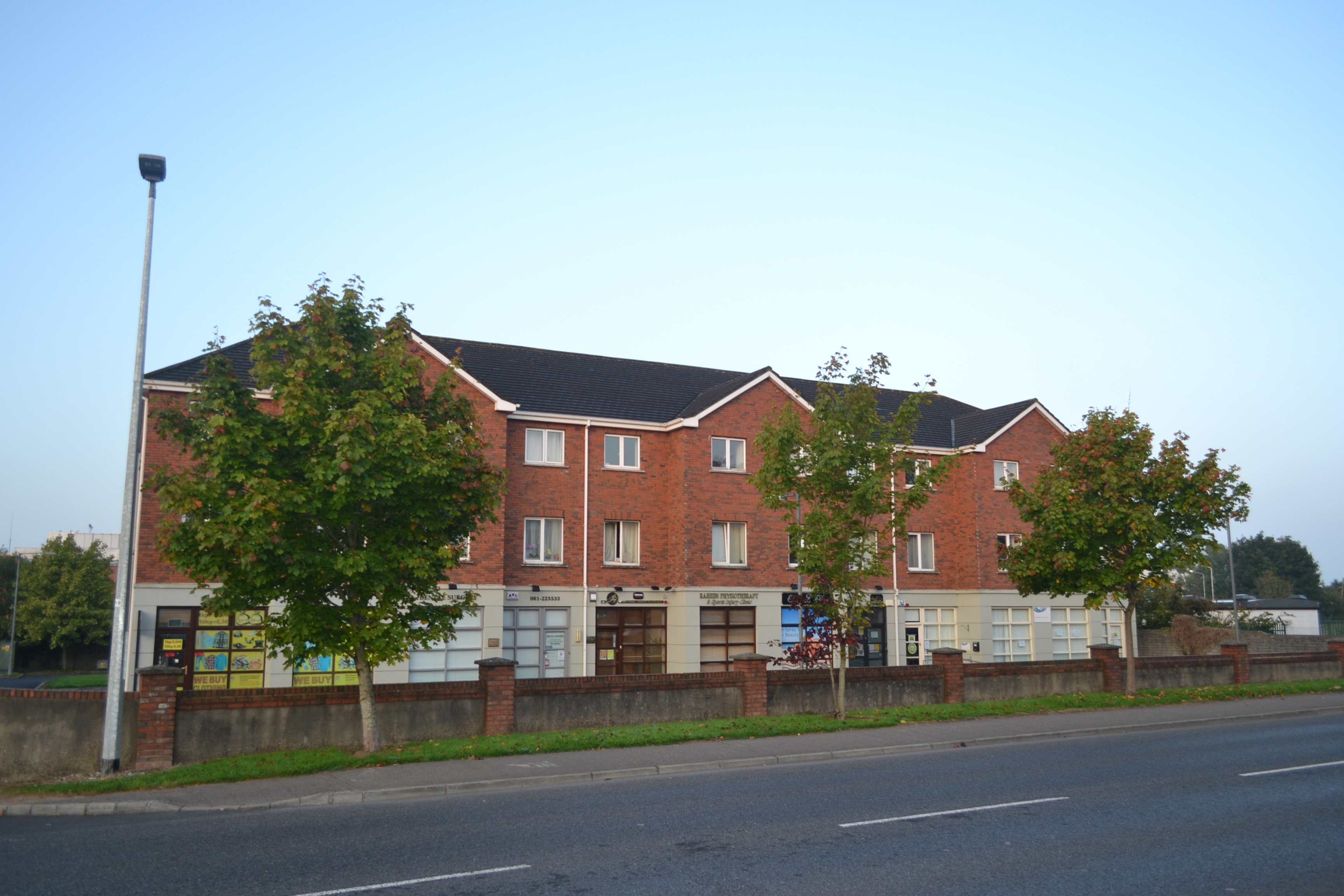 View of the clinic - from road