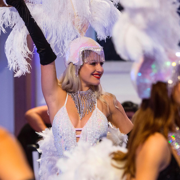 event dancers and showgirls
