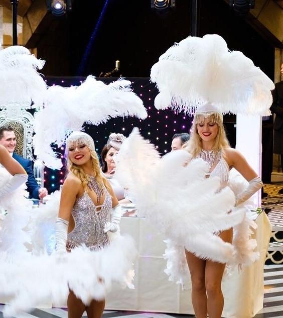 Wedding dance glamorous