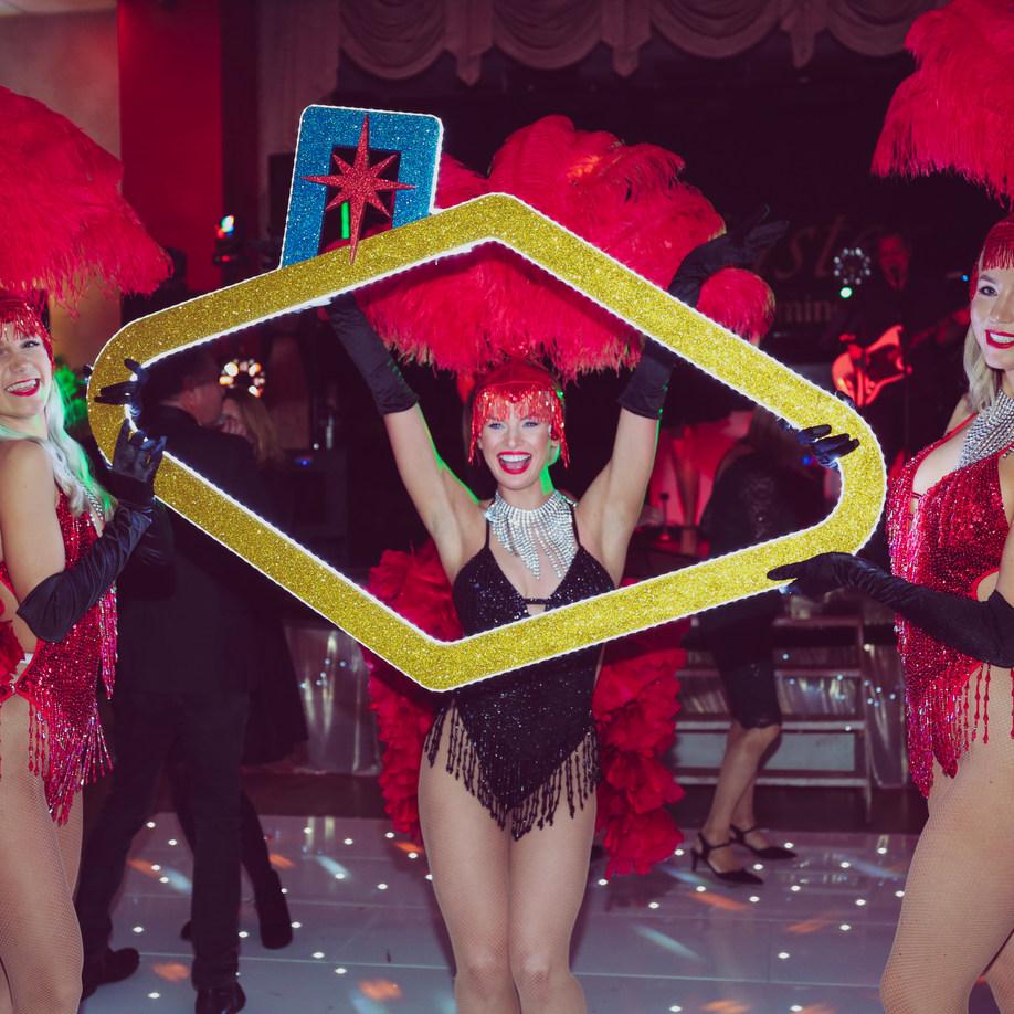 Showgirls Las Vegas Frame