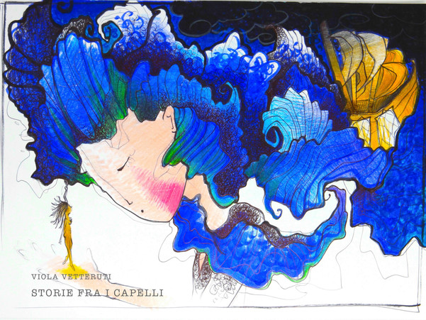 STORIE FRA I CAPELLI - Libro Viola Vette