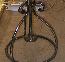 Pied ferronnerie