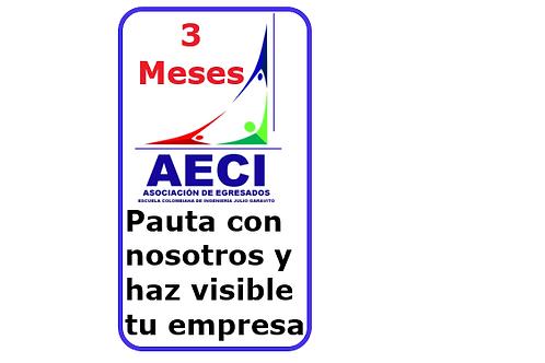 ESPACIO PUBLICITARIO TRES MESES
