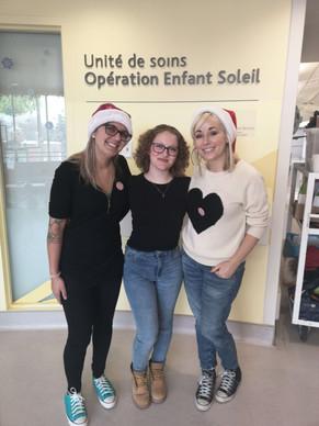 Vanaëlle, Sarah-Léane Beaulac et Mariloup Wolfe