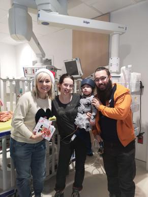 Mariloup Wolfe, Charlie et ses parents