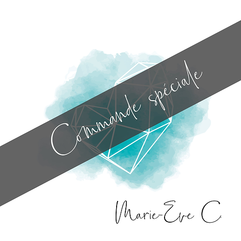 MARIE-EVE C: PERSONNALISATION