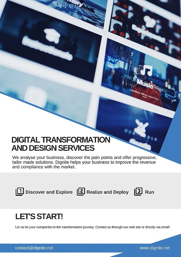 Digital Transformation and Design