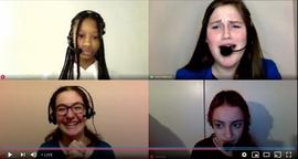 Adrianna, Grace, Reyna and Talia