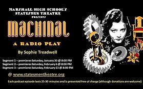 Marshall High School Theatre Jan 2021 Online Theatre Radio Performance