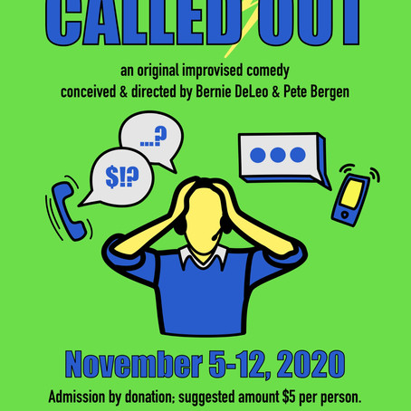Called Out Ticket Sales Opening Oct 28