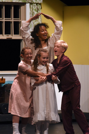 Children Dance During Storm