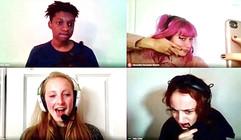 Alex, AJ, Catie and Talia