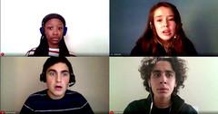 Adrianna, Emily, Josh and Logan