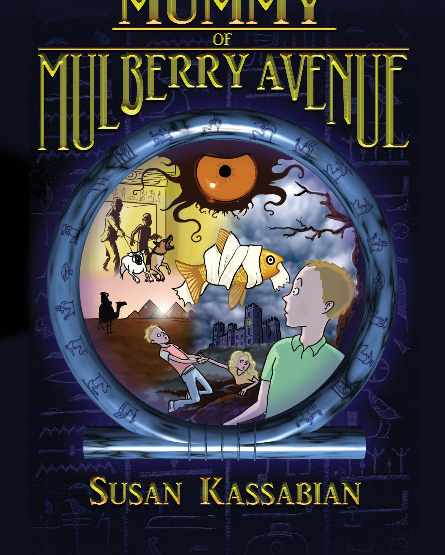 The Mummy of Mulberry Avenue Book Cover