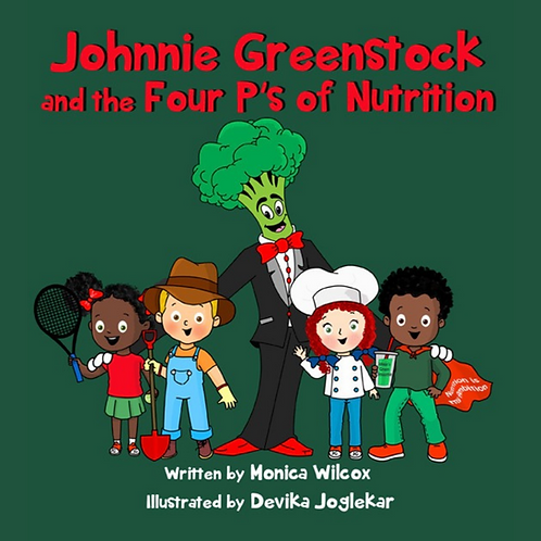 Johinne Greenstock & The 4P's of Nutrition