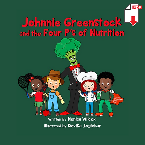 (Digital Copy) Johinne Greenstock & The 4 P's of Nutrition Book