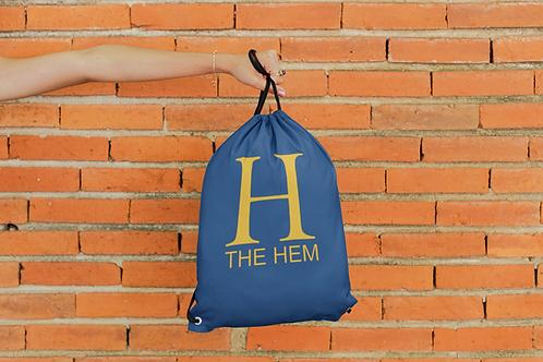 The Hem Draw String Bag