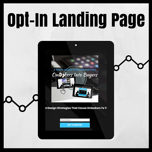 Opt-In Landing Page