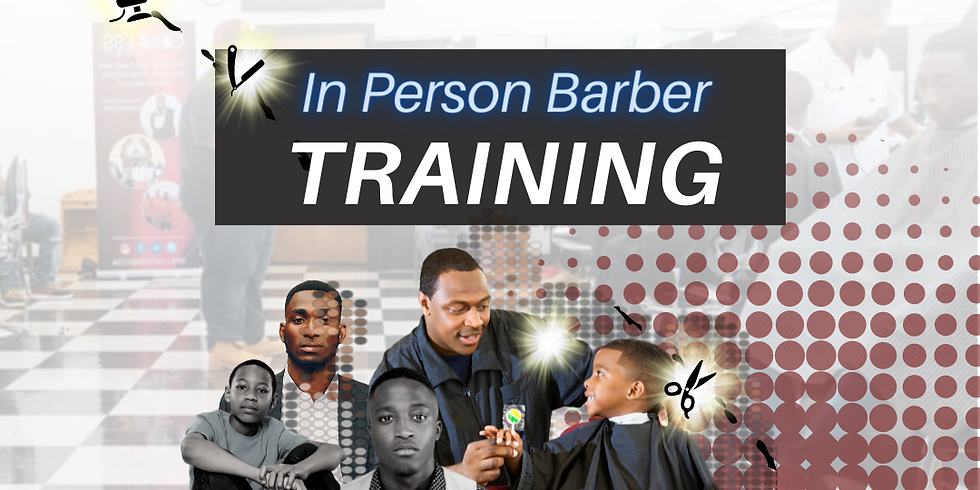 In Person Barber Training