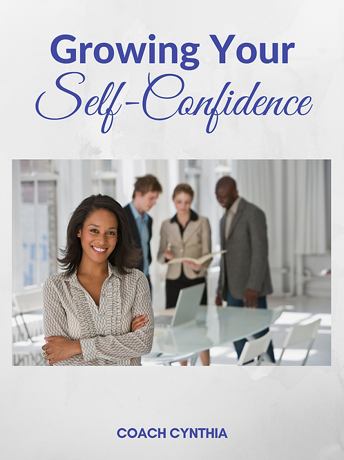 Grow Your Self Confidence