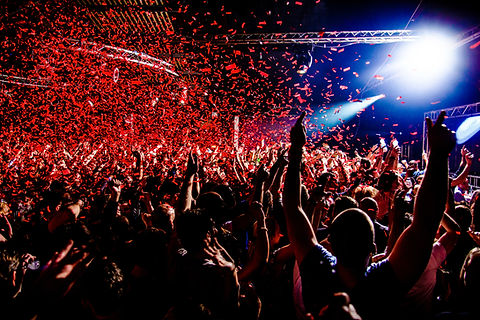 Nightclub party