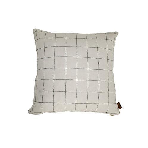 'Grid' cushion - natural