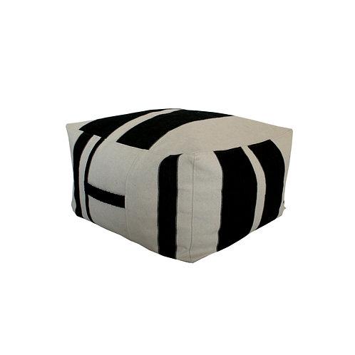 NOMAD square pouf