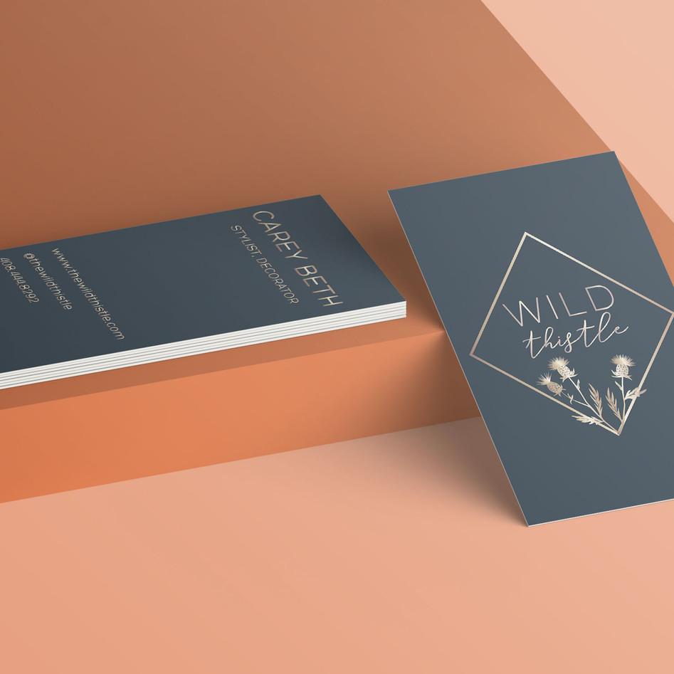 Logo & business card design for client