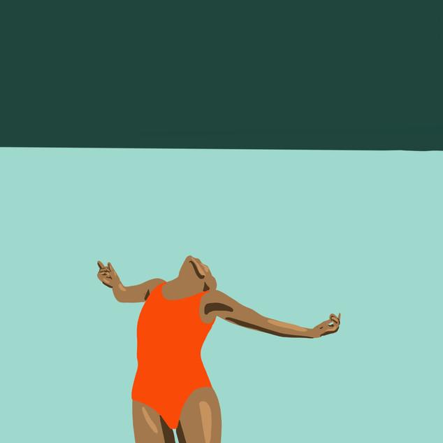 Swimmer 2 - illustration