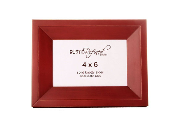 4x6 Haven Picture Frame - Mojave Red
